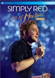CD image for SIMPLY RED / LIVE AT MONTREUX 2003 - (DVD)
