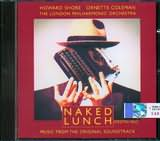 CD image NAKED LUNCH - HOWARD SHORE AND ORNETTE COLEMAN - (OST)