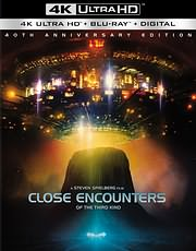 CD Image for STENES EPAFES TRITOU TYPOU (CLOSE ENCOUNTERS OF THE THIRD KIND) 40TH ANNIVERSARY (4K UHD + BLU - RAY)