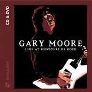 CD + DVD image GARY MOORE / LIVE AT MONSTERS OF ROCK