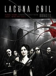 DVD image LACUNA COIL / VISUAL KARMA (BODY MIND AND SOUL) (2 DVD) - (DVD VIDEO)