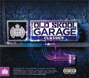 CD image BACK 2 THE OLD SKOOL GARAGE CLASSICS - (VARIOUS) (3 CD)