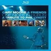 DVD image GARY MOORE / ONE NIGHT IN DUBLIN - A TRIBUTE TO PHIL LYNNOTT (BLUE RAY)