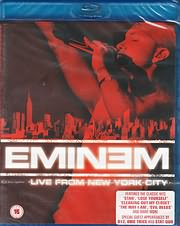CD image for BLU - RAY / EMINEM - LIVE IN NEW YORK