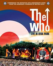 DVD image BLU - RAY / THE WHO / LIVE AT THE HYDE PARK