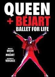 DVD image BLU - RAY / QUEEN - MAURICE BEJART / BALLET FOR LIFE (DELUXE)