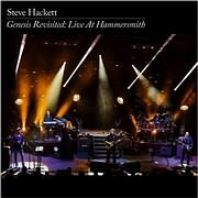 CD + DVD image STEVE HACKETT / GENESIS REVISITED - LIVE AT HAMMERSMITH (2CD + DVD)