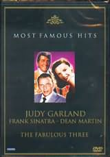 DVD image THE FABULOUS THREE / JUDY GARLAND - FRANK SINATRA - DEAN MARTIN - (DVD)