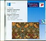 CD image HAYDN / ORGAN CONCERTO N 1 - 2 - 3 / HAENDEL / ORGAN CONCERTO THE GUCKOO AND THE NIGHTINGATE