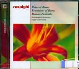 CD image RESPIGHI / PINES OF ROME - FOUNTAINS OF ROME - ROMAN FESTIVALS [ORMANDY]