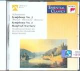 CD image SCHUMANN / SYMPHONY N 3 SYMPHONY N 4 MANFRED OVERTURE - KUBELIK