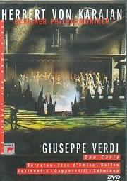DVD image VERDI / DON CARLOS - BRRLIN PHILHARMONIKER - HERBERT VON KARAJAN