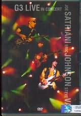 DVD image JOE SATRIANI - ERIC JOHNSON - STEVE VAI / G3 - LIVE IN CONCERT - (DVD)