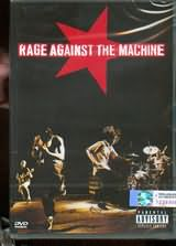 DVD image RAGE AGAINST THE MACHINE / LIVE IN CONCERT - (DVD)