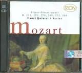 CD image MOZART / BLASER - DIVERTIMENTI K 213.253.270.289.375.388