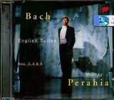 CD image BACH J S / ENGLISH SUITES N 2 - 4 - 5 [PERAHIA]