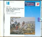 CD image MOZART / CHAMBER ORCHESTRA / THE FOUR HORN CONCERTOS