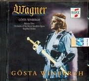 CD image WAGNER / GOSTA WINBERGH - REINZI - DIE MEISTERSINGER VON NURNBERG - LOHENGRIN - PARSIFAL - SIEGFRIED KOHLEN