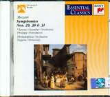 CD image for MOZART / SYMPHONIES N 29 - 30 - 31 [ORMANDY]