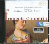 CD image COUPERIN / CONCERT INSTRUMENTAL SOUS LE TITRE D APOTHEOSE - LA SULTANE - LA SUPERBE - LA STEINQUERQUE -