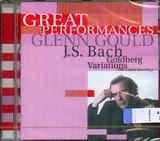 CD image GLENN GOULD / GREAT PERFORMANCES J S BACH GOLDBERG VARIATIONS