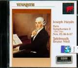 CD image HAYDN / SYMPHONIES N 85 - 86 - 87 - WEIL