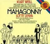 CD image LENYA - LOTTE / WEILL: MAHAGONNY - (OST)