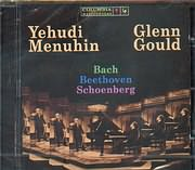 CD image YEHUDI MENUHIN - GLENN GOULD / SONATES FOR PIANO AND VIOLIN - BACH BWV 1017 - BEETHOVEN - SCHOENBERG