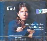 CD image JOSHUA BELL / MENDELSSOHN - BEETHOVEN / VIOLIN CONCERTOS