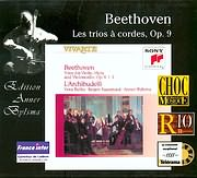 CD image BEETHOVEN / STRING TRIOS OP.9 NO.1 - 3 / L ARCHIBUDELLI
