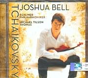SACD image TCHAIKOVSKY / CONCERTO IN D MAJOR FOR VIOLIN AND ORCHESTRA - JOSHUA BELL - BERLIN PHIL.TILSON THOMAS SACD