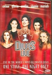 DVD image DIVAS LIVE - CELINE - GLORIA - ARETHA - SHANIA - MARIAH / ONE STAGE ONE NIGHT ONLY - (DVD VIDEO)