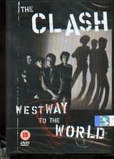 DVD image THE CLASH / WEST WAY TO THE WORLD - (DVD)