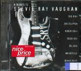 CD image A TRIBUTE TO STEVIE RAY VAUGHAN - (VARIOUS)