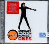 CD image MICHAEL JACKSON / NUMBER ONES E - GO 18 LEGENDARY HITS