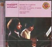 CD image MOZART / SONATA FOR TWO PIANOS K 448 - FANTASIA K 608 - SCHUBERT / FANTASIA D 940 - MURRAY PERAHIA PIANO