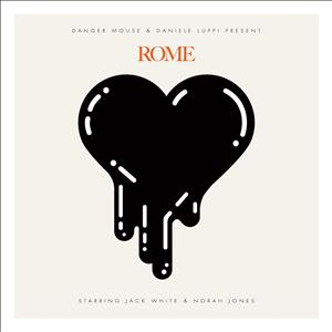CD image DANGER MOUSE AND DANIELE LUPPI / ROME