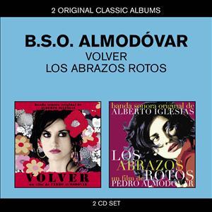 CD image ALMODOVAR / VOLVER - LOS ABRAZOS ROTOS (2CD)