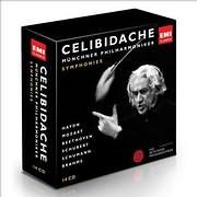 CD image CELIBIDACHE / SYMPHONIES (SERGIU CELIBIDACHE VOL.1) (14 CD)
