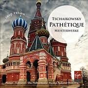 CD image TSCHAIKOWSKY / PATHETIQUE - MEISTERWERKE (MIKHAIL PLETNEV)