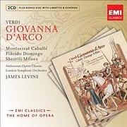 CD image VERDI / GIOVANNA D ARCO (JAMES LEVINE) (2CD)