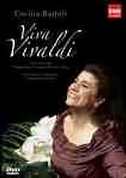 DVD image BARTOLI CECILIA - VIVA VIVALDI - (DVD)