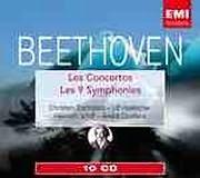 CD image BEETHOVEN / LES 9 SYMPHONIES - LES CONCERTOS (VARIOUS) (10 CD)