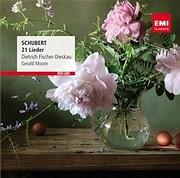 CD image SCHUBERT / LIEDER - (DIETRICH FISCHER - DIESKAU / GERALD MOORE)