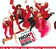 CD + DVD image HIGH SCHOOL MUSICAL 3 - SENIOR YEAR (CD + DVD) - (OST)