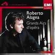 CD image ROBERTO ALAGNA / GRANDS AIRS D OPERAS