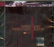 CD image THANOS MIKROUTSIKOS - GARY BURTON / MUSIC STORIES