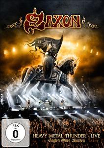 DVD image SAXON - HEAVY METAL THUNDER - LIVE - EAGLES OVER WACKEN - (DVD)