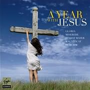 CD image A YEAR WITH JESUS - (VARIOUS) (2 CD)