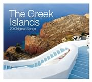 CD image THE GREEK ISLANDS - 20 ORIGINAL SONGS - (VARIOUS)